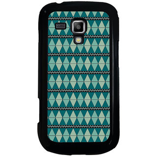 ifasho Animated Pattern colrful tribal design Back Case Cover for Samsung Galaxy S Duos S7562