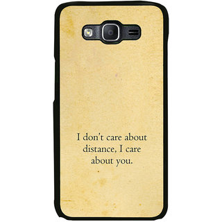 ifasho care quotes  Back Case Cover for Samsung Galaxy On 7