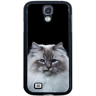 ifasho Innocent Cat with brown Eyes Back Case Cover for Samsung Galaxy S4