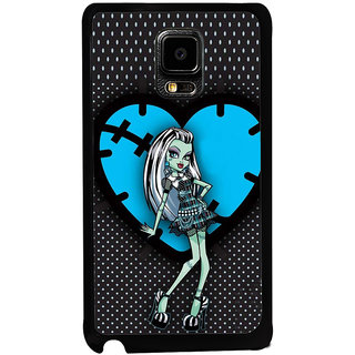 ifasho Crazy Girl Back Case Cover for Samsung Galaxy Note Edge
