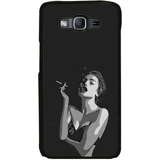 ifasho Smoking girl Back Case Cover for Samsung Galaxy On 5