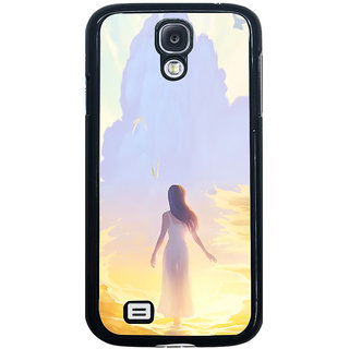 ifasho Girl painting Back Case Cover for Samsung Galaxy S4