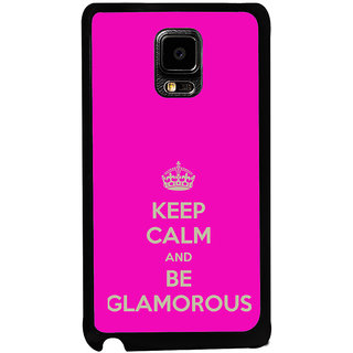 ifasho Nice Quote On Keep Calm Back Case Cover for Samsung Galaxy Note Edge