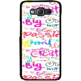 ifasho Motivatinal Quote Back Case Cover for Samsung Galaxy On 5 Pro
