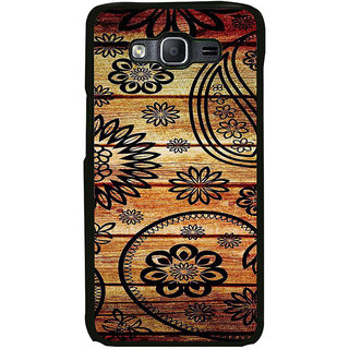 ifasho Animated Royal Pattern with Wooden back ground Back Case Cover for Samsung Galaxy On 5 Pro