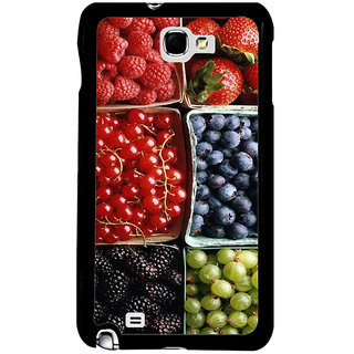 ifasho Fruits pattern Back Case Cover for Samsung Galaxy Note 2