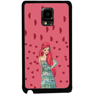 ifasho Cute Girl animated Back Case Cover for Samsung Galaxy Note Edge