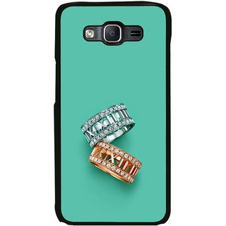 ifasho Engagement Ring Back Case Cover for Samsung Galaxy On 5