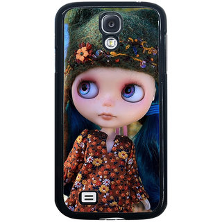 ifasho Cute Girl Back Case Cover for Samsung Galaxy S4