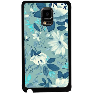 ifasho Modern Art Design animated cloth Pattern of flower Back Case Cover for Samsung Galaxy Note Edge