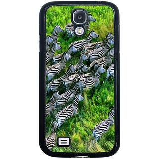 ifasho Zebra with Stripes Back Case Cover for Samsung Galaxy S4