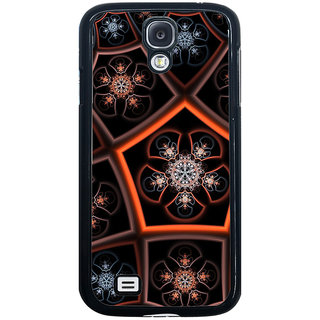 ifasho Animated Pattern design colorful flower in royal style Back Case Cover for Samsung Galaxy S4
