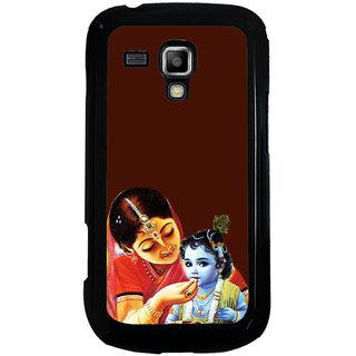 ifasho Yasoda krishna Back Case Cover for Samsung Galaxy S Duos S7562