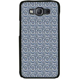 ifasho Animated Pattern design black and white flower in royal style Back Case Cover for Samsung Galaxy On 5