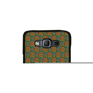 ifasho Animated Pattern design colorful flower in white background Back Case Cover for Samsung Galaxy On 7 Pro