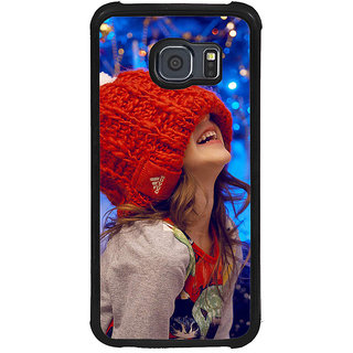 ifasho Little girl laughing Back Case Cover for Samsung Galaxy S6 Edge