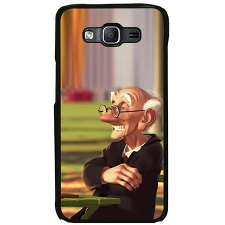 ifasho Old man playing chess animated design Back Case Cover for Samsung Galaxy On 7