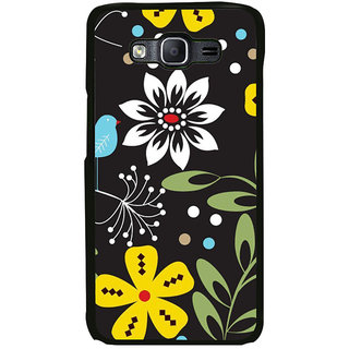 ifasho Animated Pattern birds and flowers Back Case Cover for Samsung Galaxy On 5