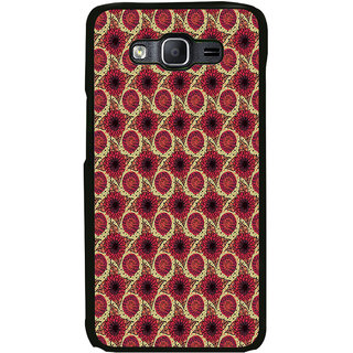 ifasho Animated Pattern design flower with leaves Back Case Cover for Samsung Galaxy On 5 Pro