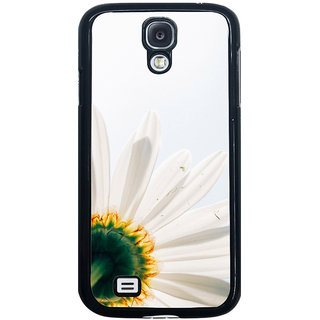ifasho Flower Design white flower in white background Back Case Cover for Samsung Galaxy S4