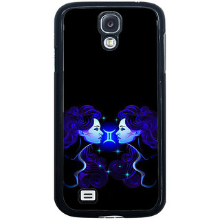 ifasho zodiac sign gemini Back Case Cover for Samsung Galaxy S4