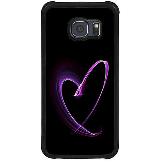 ifasho Modern Art Design heart animated Back Case Cover for Samsung Galaxy S6