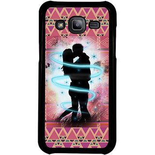 ifasho couple kissing Back Case Cover for Samsung Galaxy J2