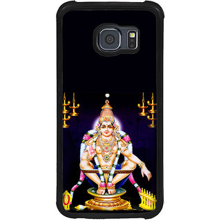 ifasho Lord Ayappa Back Case Cover for Samsung Galaxy S6 Edge