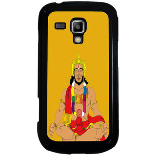 ifasho Lord Hanuman Back Case Cover for Samsung Galaxy S Duos S7562
