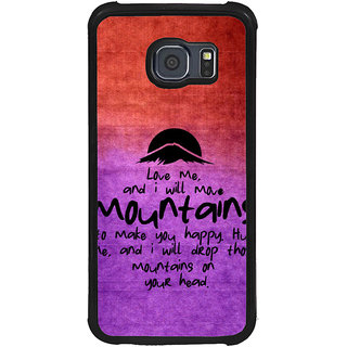 ifasho Love Quotes for love Back Case Cover for Samsung Galaxy S6 Edge