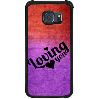 ifasho Loving you Back Case Cover for Samsung Galaxy S6