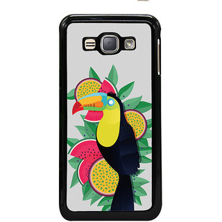 ifasho wood peacker Bird sitting animated design Back Case Cover for Samsung Galaxy J1 (2016 Edition)