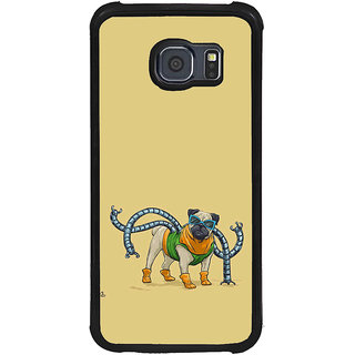 ifasho Dog with colourful  Specs Back Case Cover for Samsung Galaxy S6
