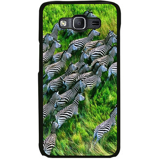 ifasho Zebra with Stripes Back Case Cover for Samsung Galaxy On 5