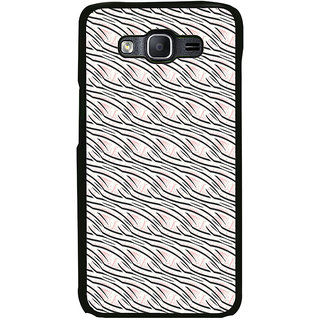 ifasho Design lines pattern Back Case Cover for Samsung Galaxy On 5