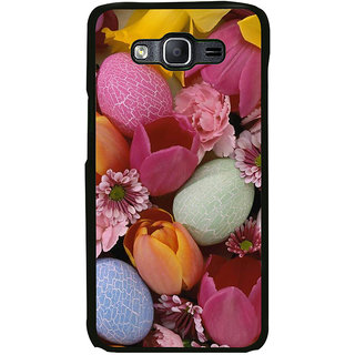 ifasho Bunch of Diffrent Flower Back Case Cover for Samsung Galaxy On 5