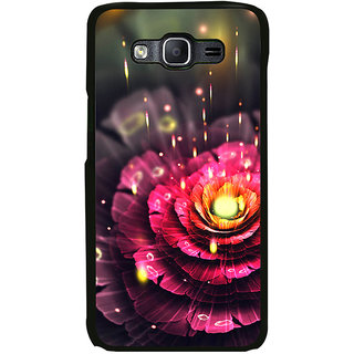 ifasho water Drop on flower Back Case Cover for Samsung Galaxy On 5