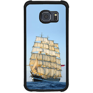 ifasho Ship in See Back Case Cover for Samsung Galaxy S6 Edge Plus