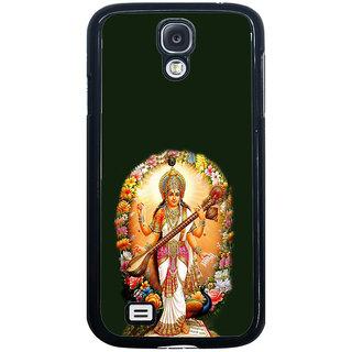 ifasho Goddess Saraswati  Back Case Cover for Samsung Galaxy S4