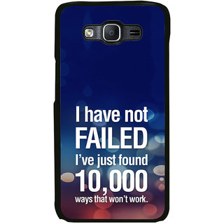 ifasho quotes on success Back Case Cover for Samsung Galaxy On 7 Pro