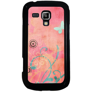 ifasho Animated Pattern colrful traditional design cloth pattern Back Case Cover for Samsung Galaxy S Duos S7562