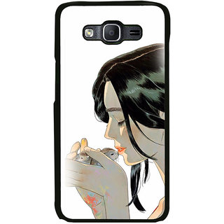 ifasho Girl kissing squirrel Back Case Cover for Samsung Galaxy On 7 Pro