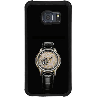 ifasho Modern Wrist watch Back Case Cover for Samsung Galaxy S6 Edge
