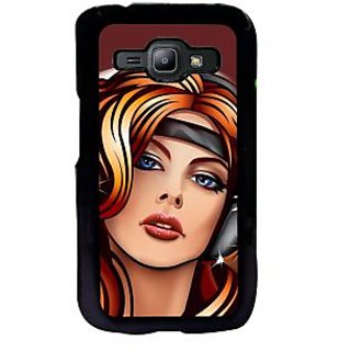 ifasho Girl at Disco Back Case Cover for Samsung Galaxy J1
