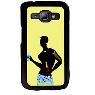 ifasho Designer boy Back Case Cover for Samsung Galaxy J1