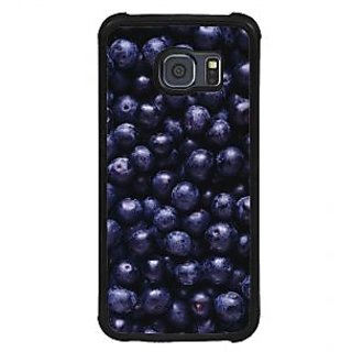 ifasho grapes pattern Back Case Cover for Samsung Galaxy S6 Edge