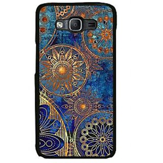 ifasho modern design in multi color aztec pattern Back Case Cover for Samsung Galaxy On 7