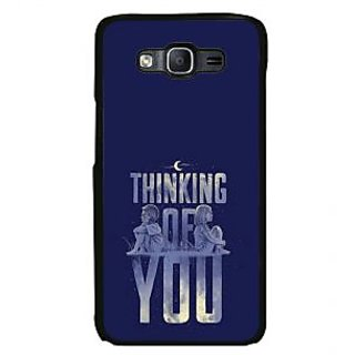 ifasho Thinking of you Back Case Cover for Samsung Galaxy On 7