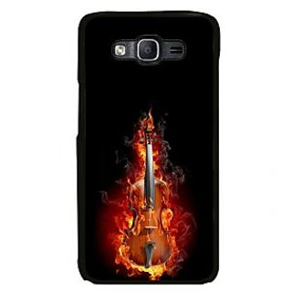ifasho Animated  Guitar Back Case Cover for Samsung Galaxy On 7