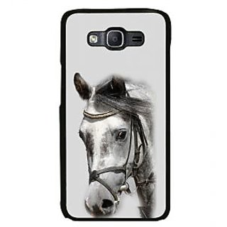 ifasho Designed Painting Horse Back Case Cover for Samsung Galaxy On 7